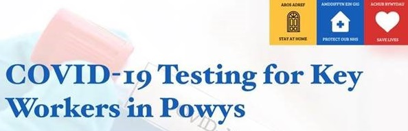 COVID-19 – Testing for key workers